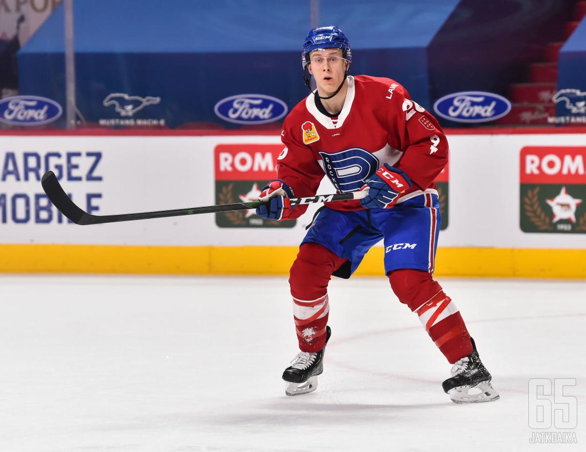 Viime kaudella Jesse Ylönen pelasi enimmäkseen Canadiensin AHL-joukkueessa.