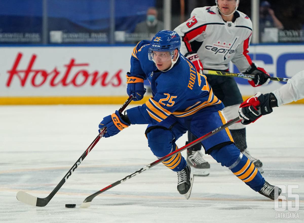 Arttu Ruotsalaisen NHL-ura on alkanut lupaavasti.