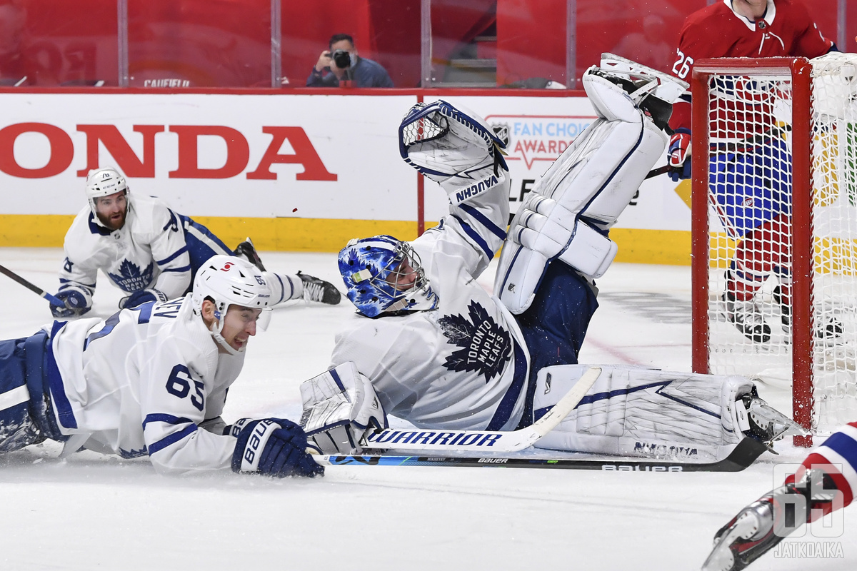Leafs konttasi jälleen pudotuspelien avauskierroksella.