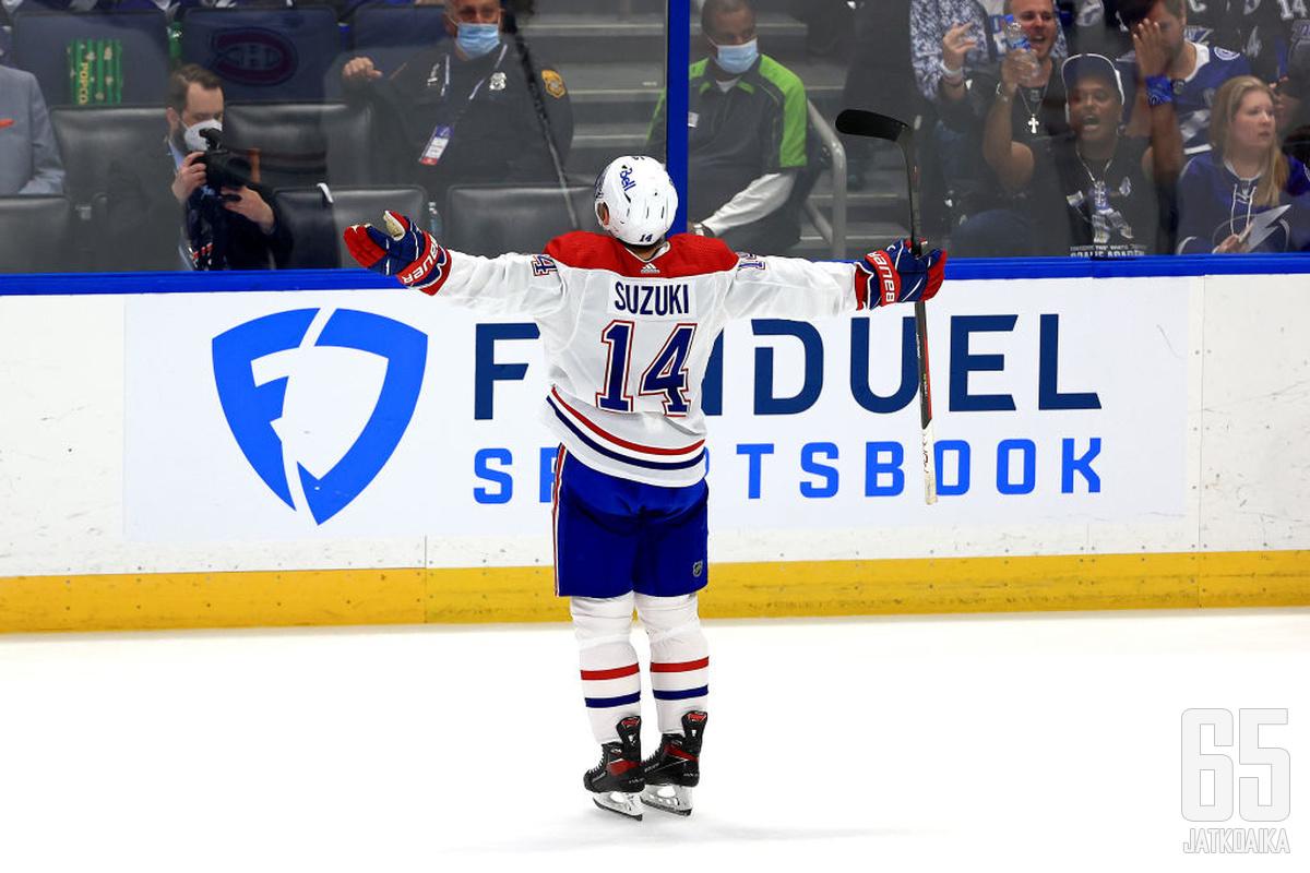 Nick Suzuki on merkittävä osa Canadiensin tulevaisuutta.