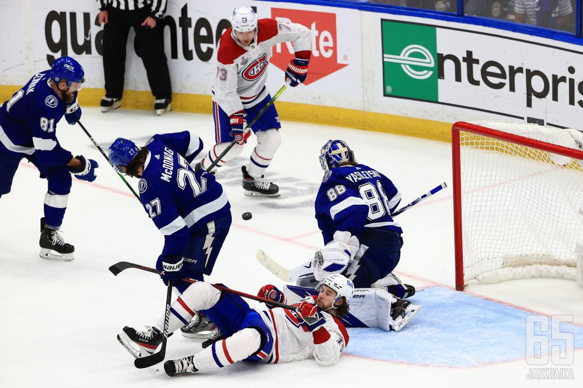 Canadiens nosti tasoaan toiseen otteluun − sekään ei riittänyt.