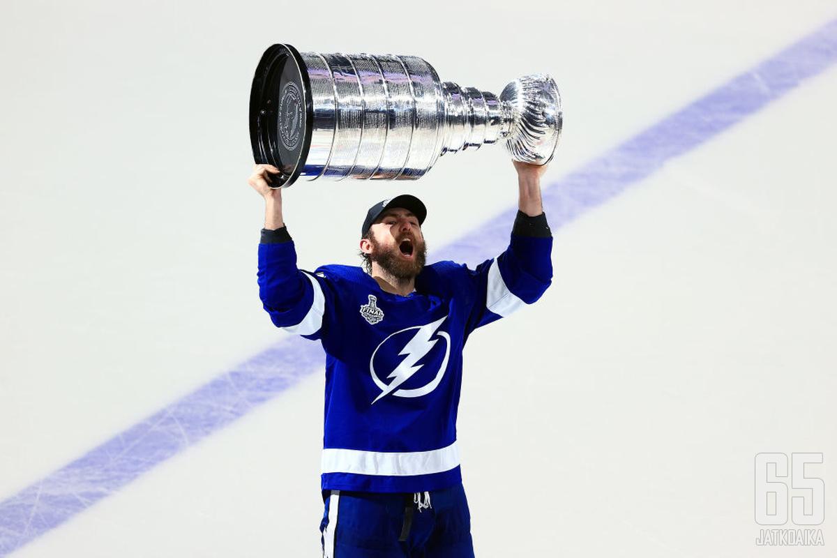 Goodrow on voittanut kaksi Stanley Cupia Lightningissa.