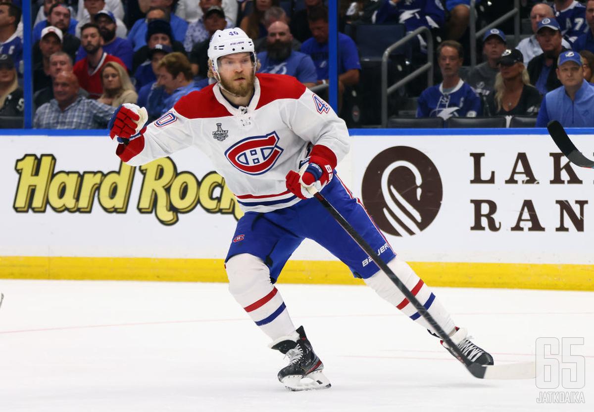 Armia jatkaa Canadiens-paidassa seuraavat neljä kautta.
