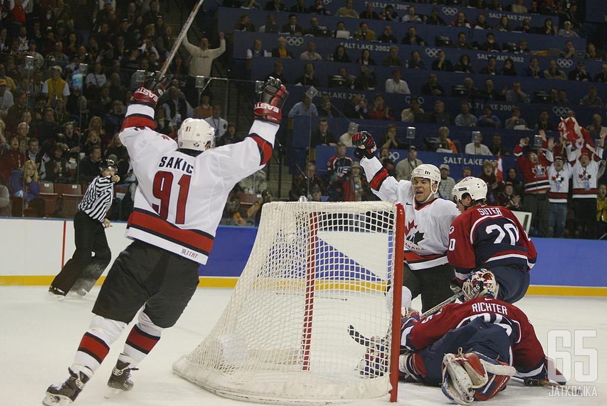 Kanadalaisille Salt Lake Cityn talviolympialaiset olivat täysosuma.