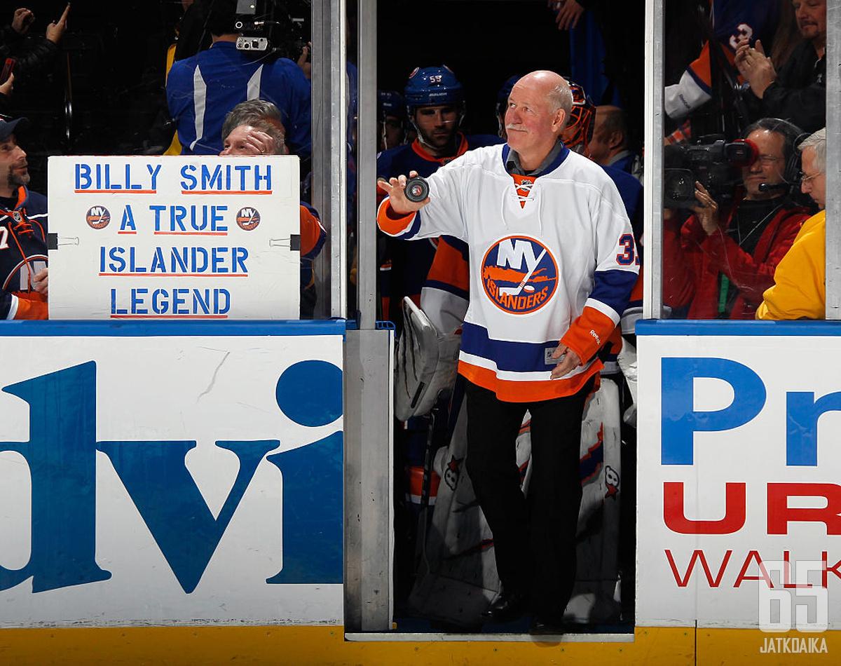 Billy Smith oli New York Islandersin mestaruusvuosien luottotorjuja.