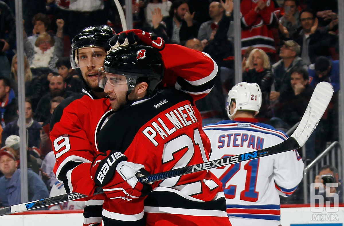 Palmieri ja Zajac jättävät Devilsin.