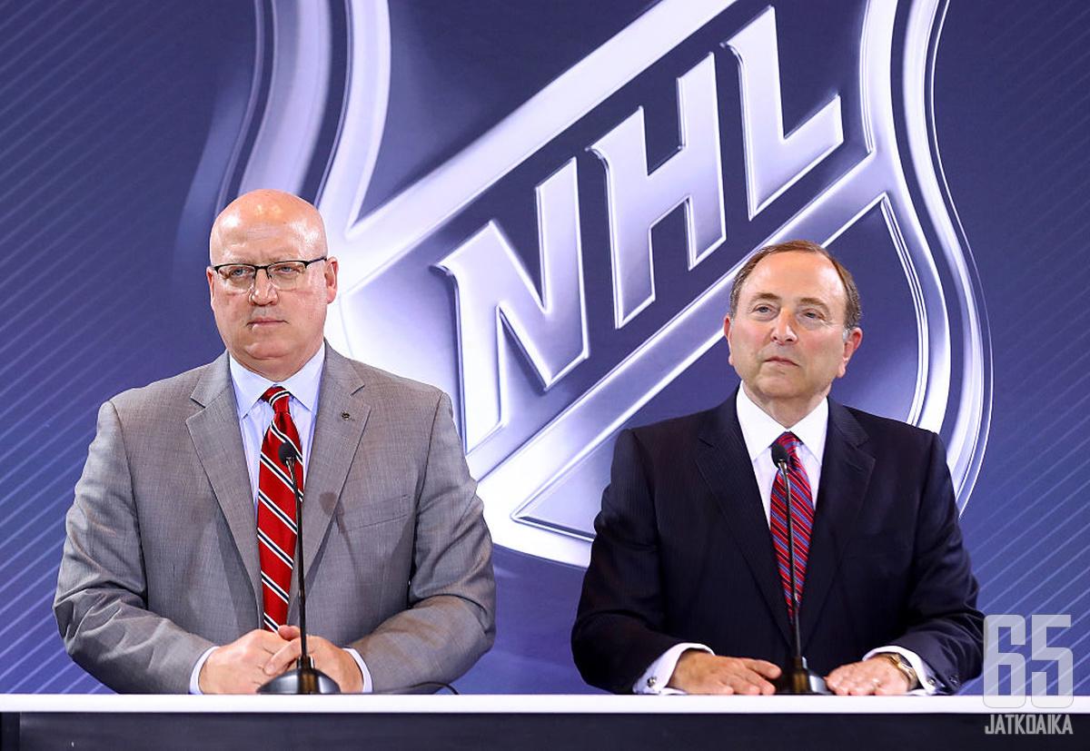 NHL teki odotetun päätöksen.