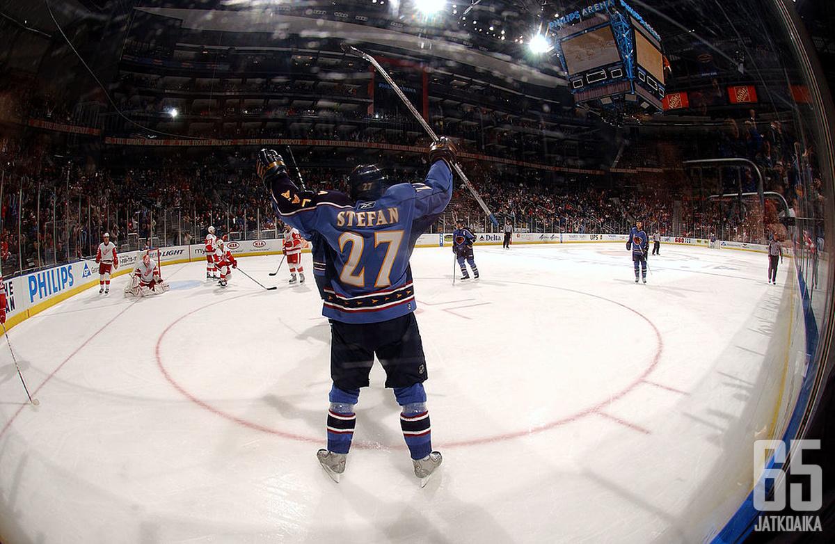 NHL-ura ei Štefanilta luonnistunut, mutta Liigassa hän jätti lähtemättömän vaikutuksen.