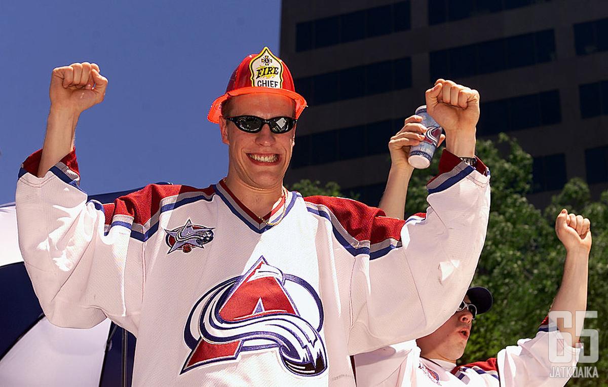 Ville Nieminen on pelannut kahdesti seitsemännessä Stanley Cup -finaalissa.