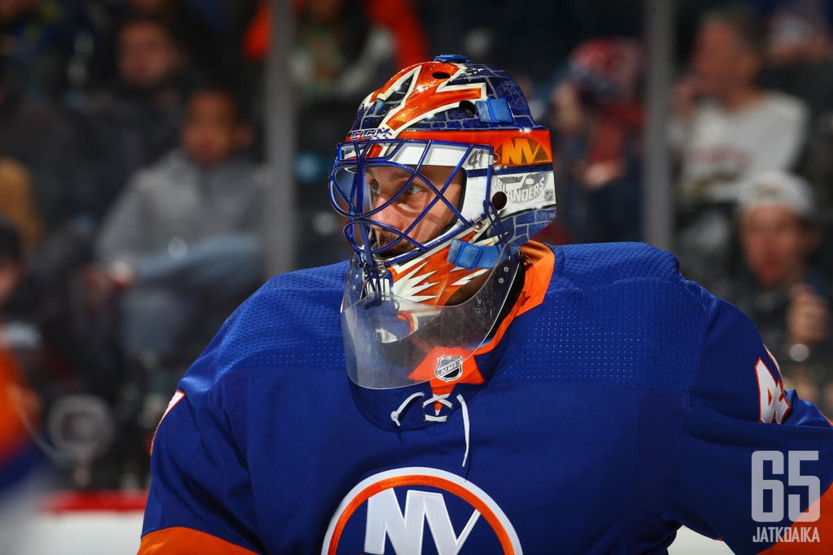 Jaroslav Halak siirtyy New York Islandersista Boston Bruinsiin.