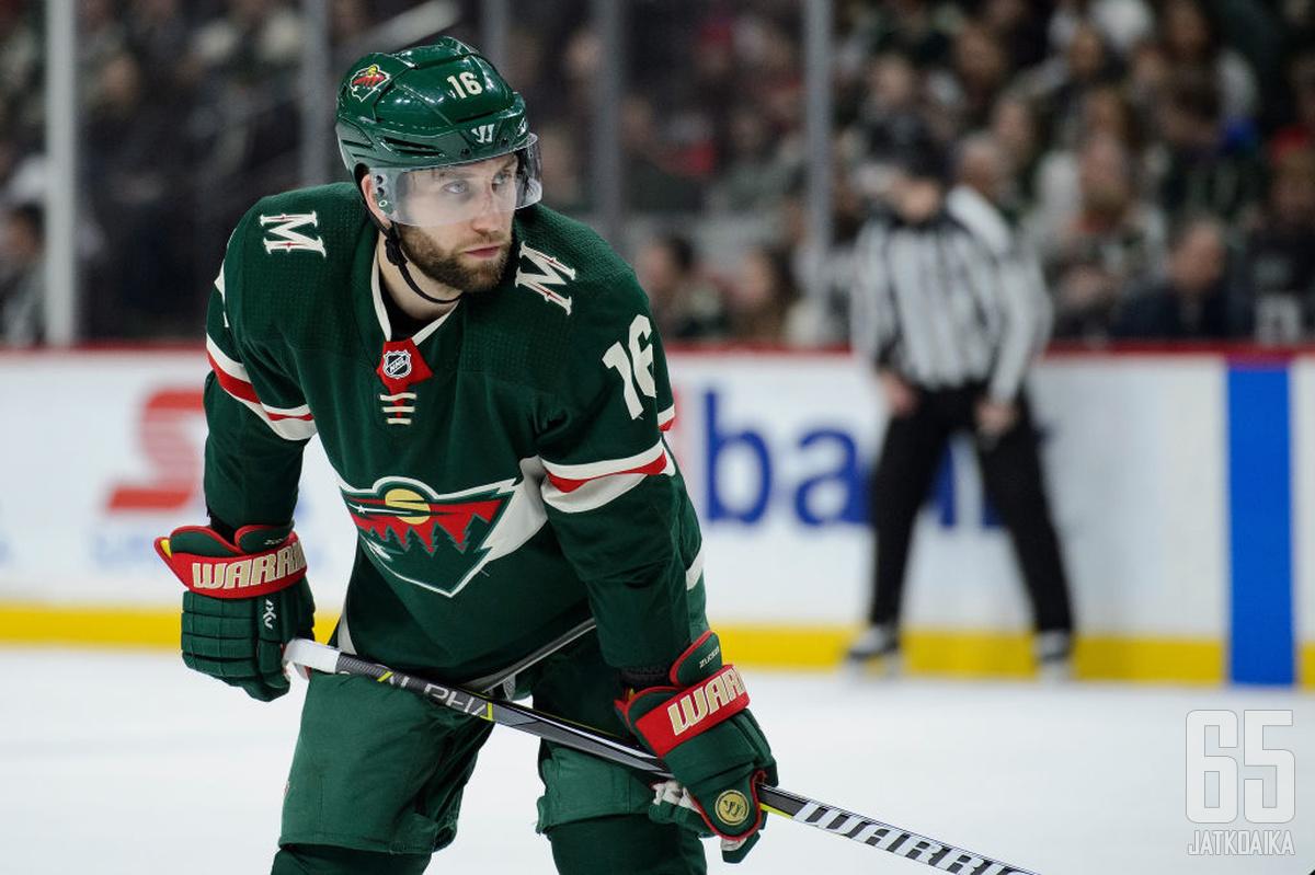 Zucker teki viime kaudella ensimmäistä kertaa NHL-urallaan yli 30 maalia.