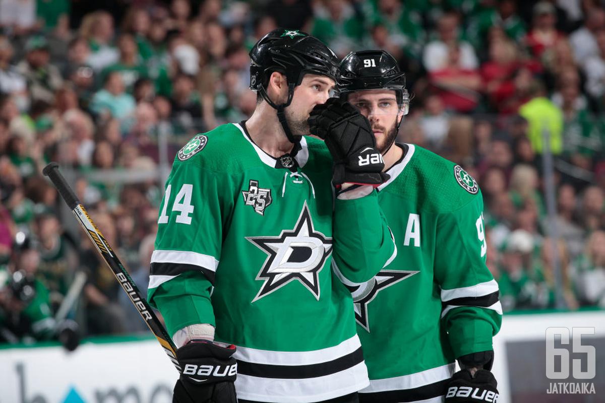 Jamie Benn ja Tyler Seguin ovat tällä kaudella jääneet NHL:n muiden tähtien varjoon.