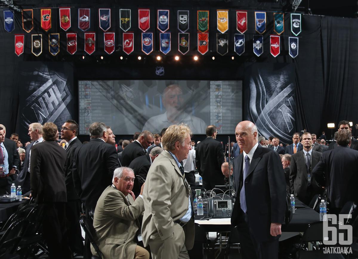 NHL:n varaustilaisuus järjestetään etänä koronatilanteen takia.