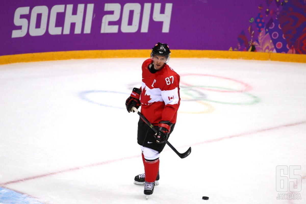 Crosby tulee olemaan Kanadan joukkueen suunnannäyttäjä numero yksi.