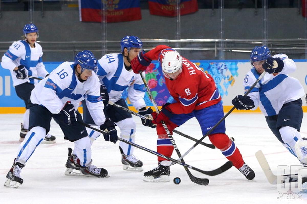Aleksander Barkov on Pyeongchangissa Leijonien johtotähti.