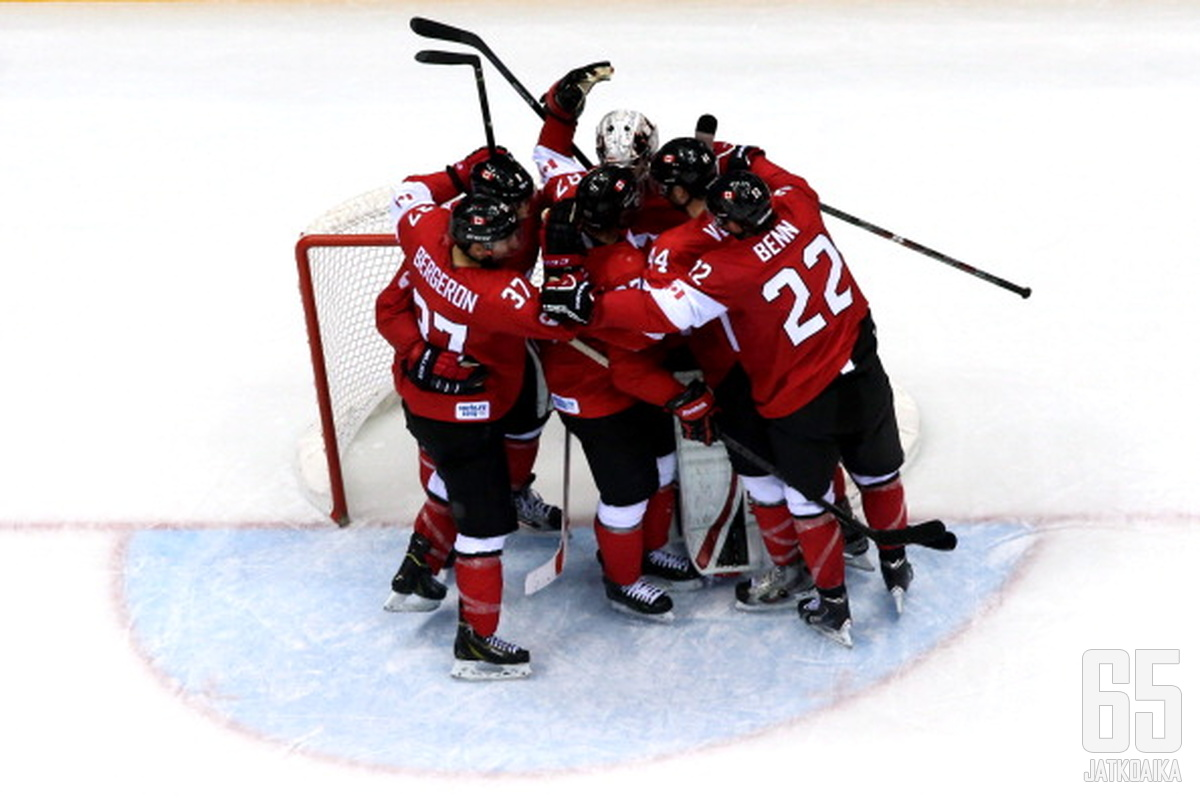 Kanada nappasi ansaitusti olympiakultaa.