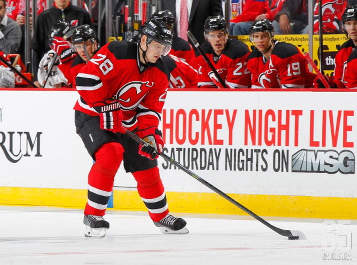 Voltšenkov vietti edelliset neljä kautta Devils-organisaatiossa.