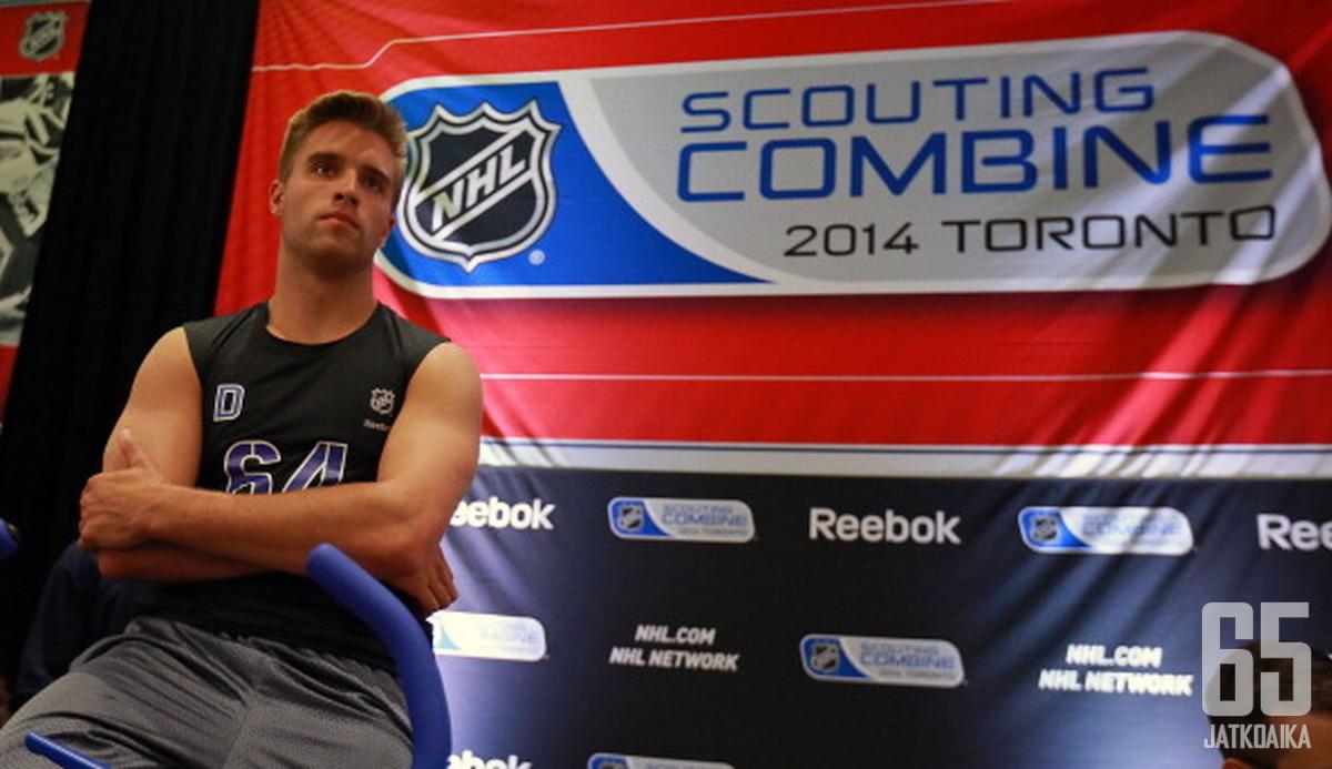 Ekblad odottaa vastuuta myös NHL:ssä.