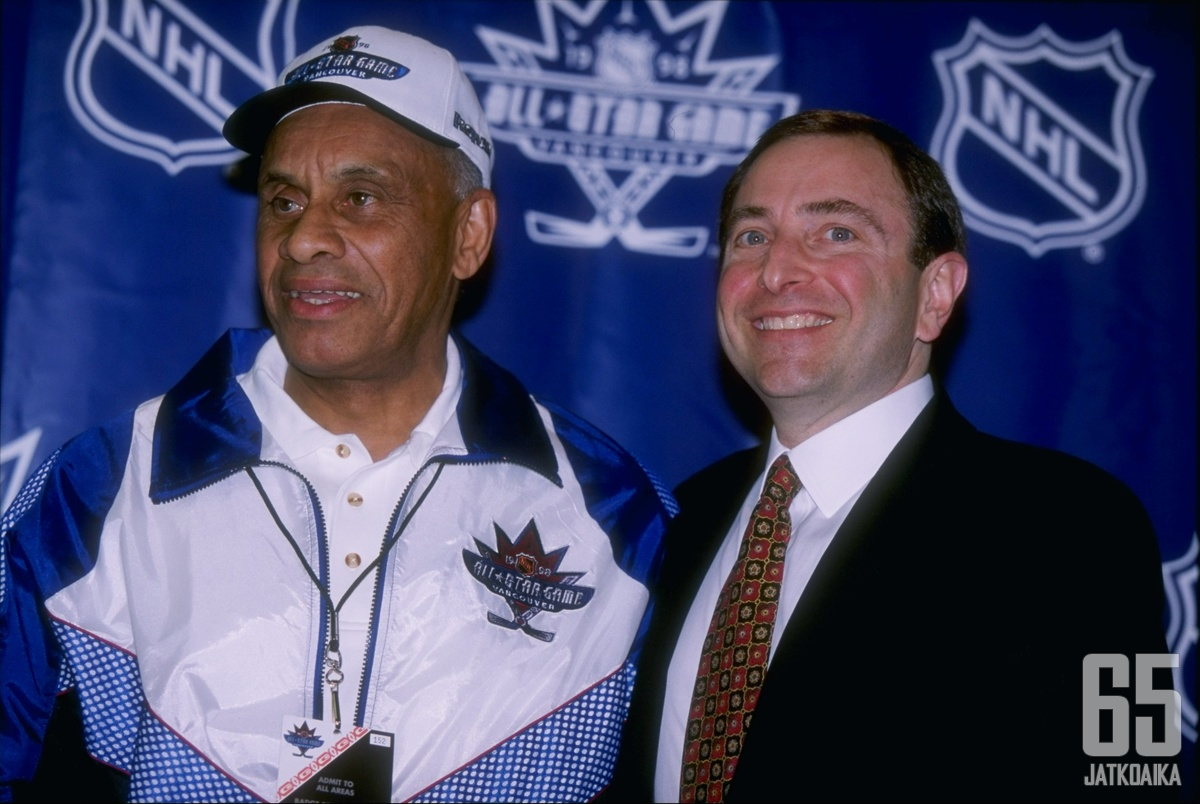 O'Ree on työskennellyt NHL:lle vuodesta 1998.