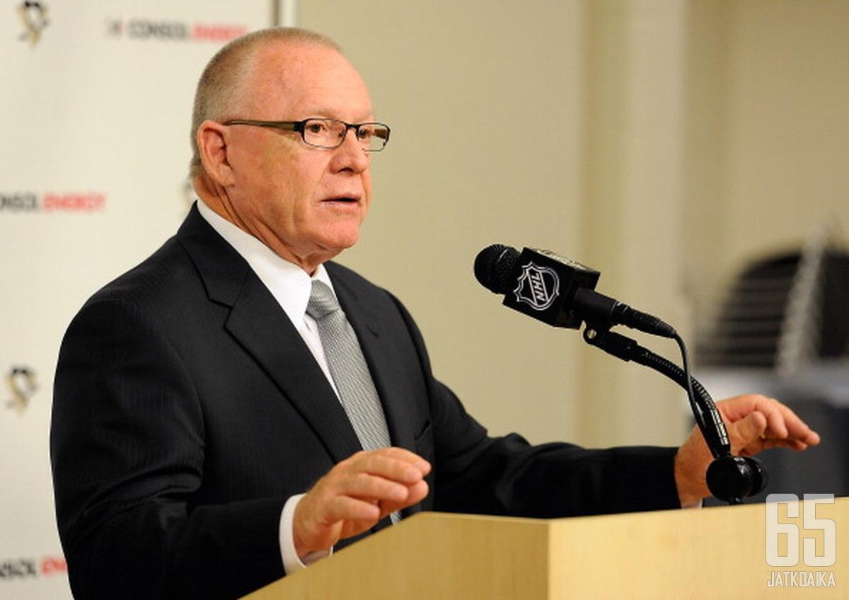 Rutherford jäi pois GM:n paikalta.
