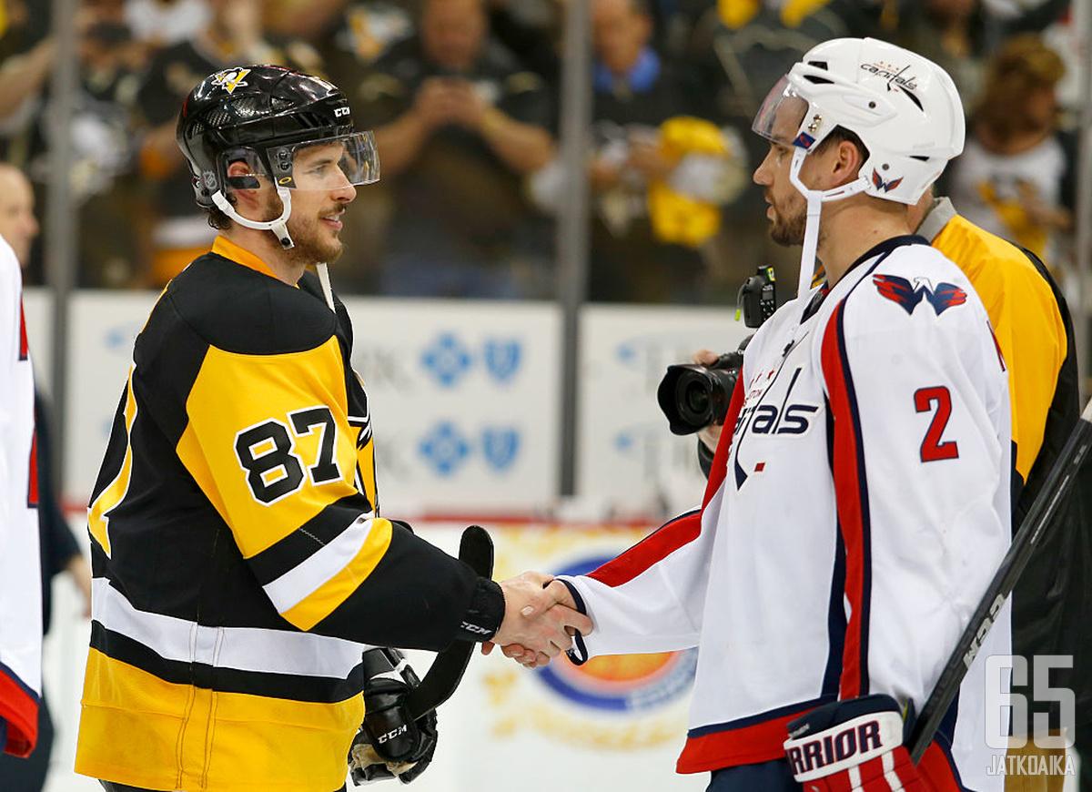 Matt Niskanen ehti edustaa urallaan sekä Penguinsia että Capitalsia.