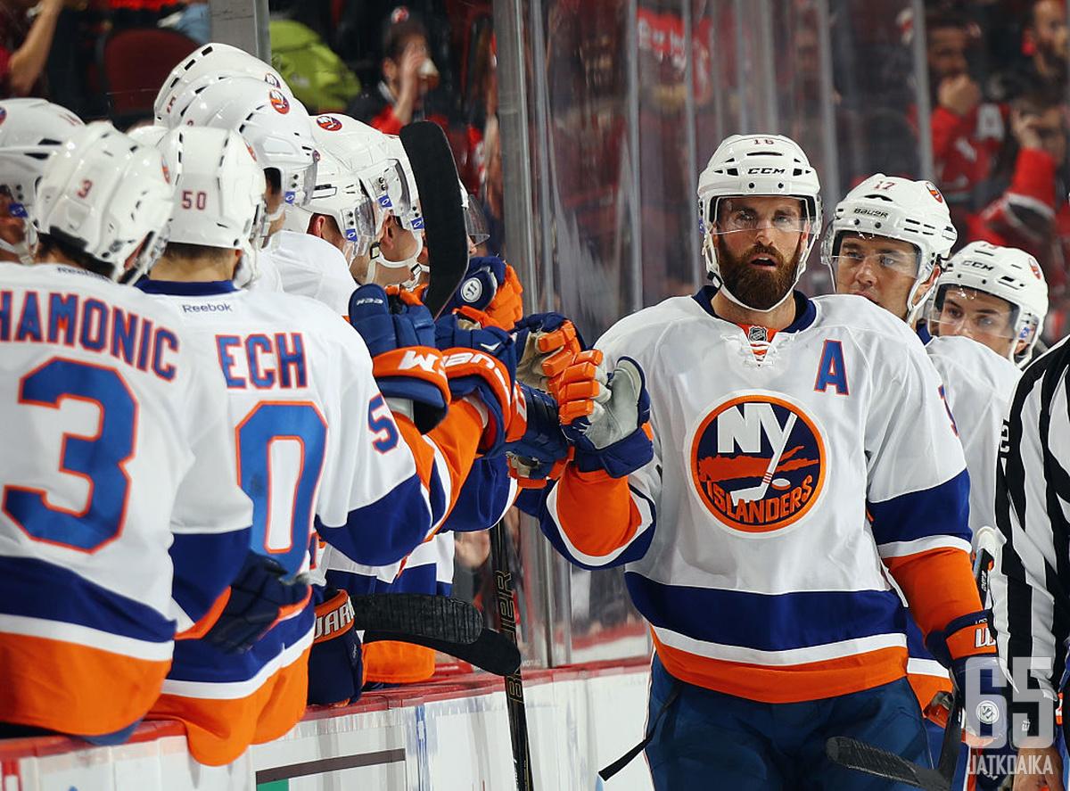 Laddin pelit Islandersissa tulivat päätökseensä.