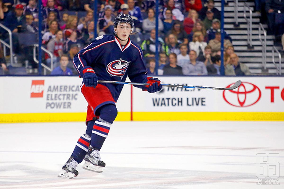 Zach Werenski ei olisi voinut toivoa parempaa alkua NHL-uralleen.