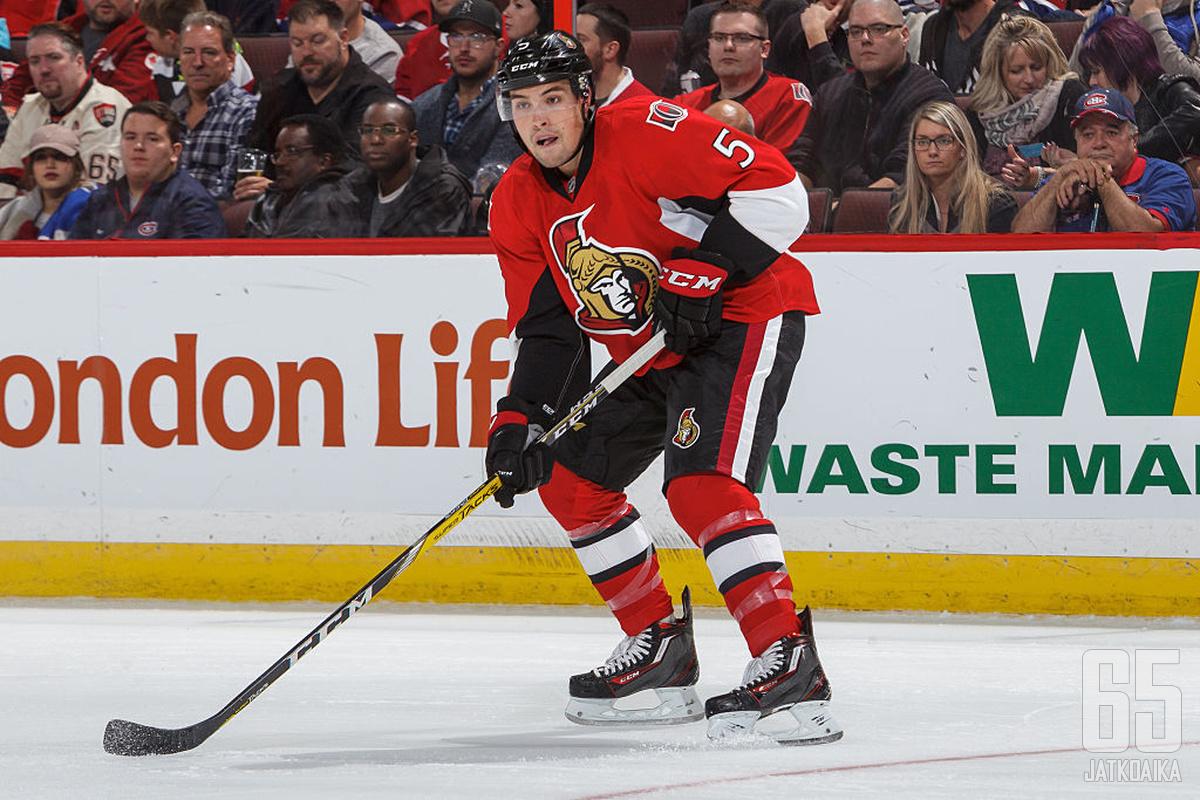 Cody Ceci on pelannut suurimman osan urastaan synnyinkaupungissaan Ottawassa.