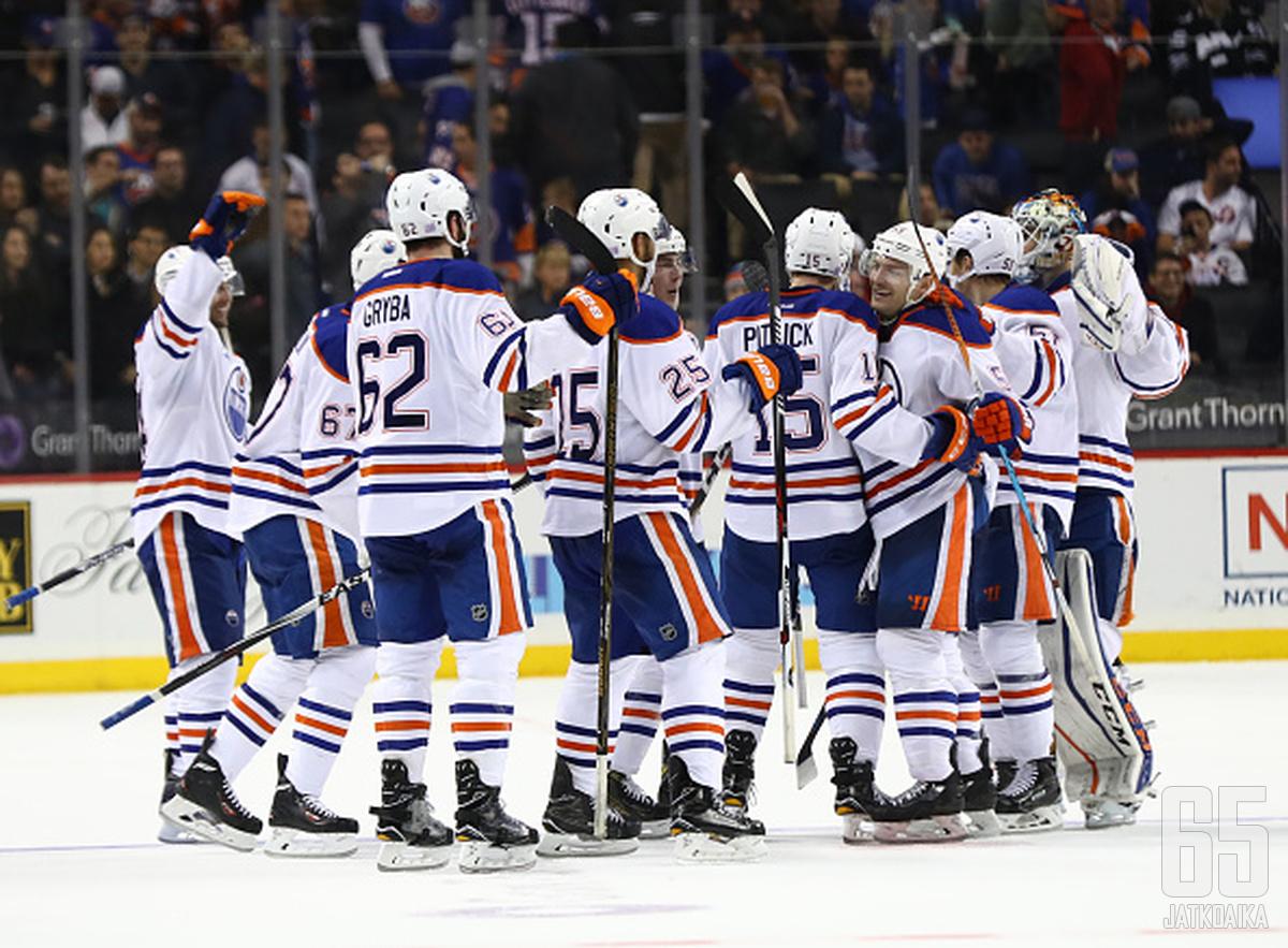 Oilers on juhlinut alkukaudella.