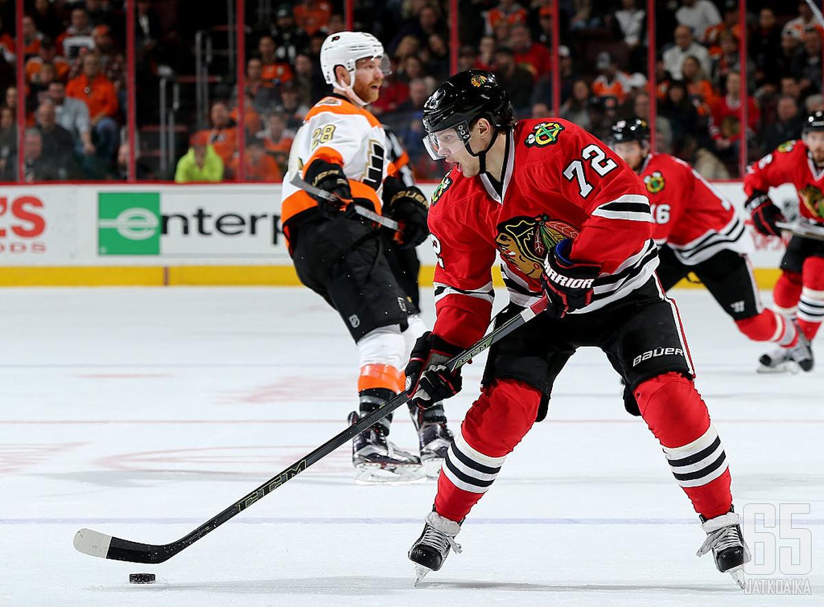 Panarin on ollut yksi NHL:n tehokkaimmista hyökkääjistä.