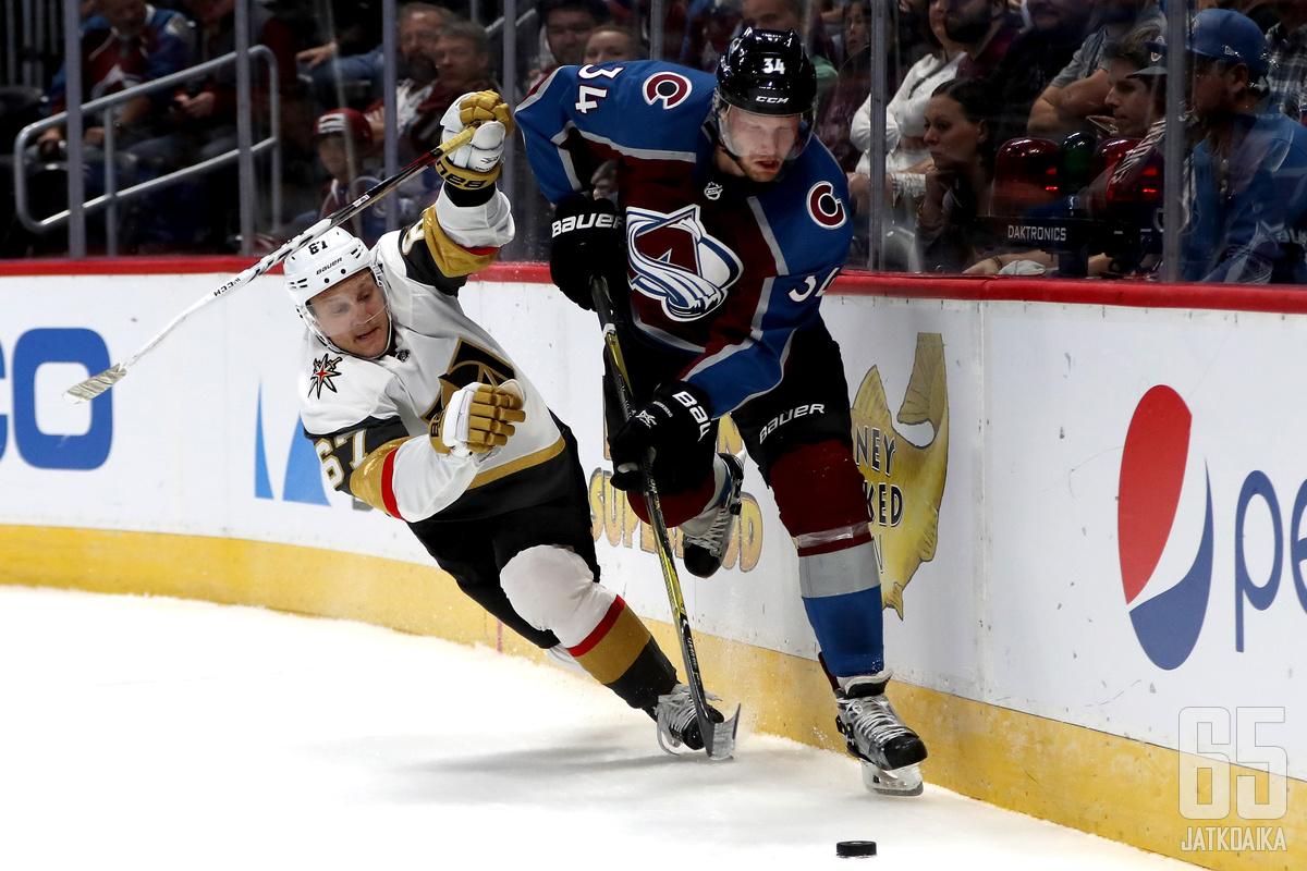 Teemu Pulkkinen hakee Detroit Red Wingsin, Minnesota Wildin ja Arizona Coyotesin jälkeen läpimurtoa NHL-tasolle laajennusjoukkue Golden Knightsista.