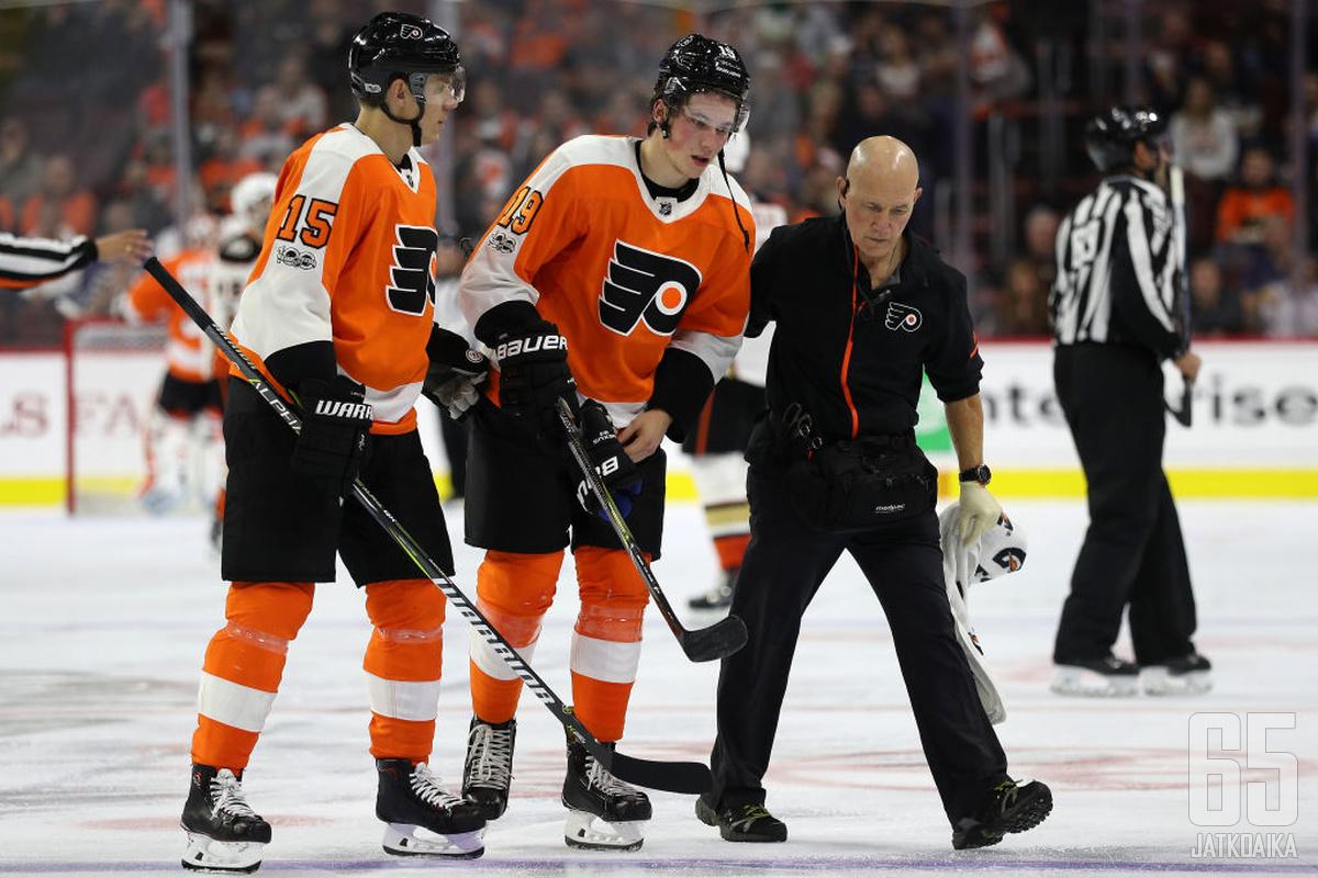 Nolan Patrickin NHL-ura alkoi ikävällä aivotärähdyksellä.