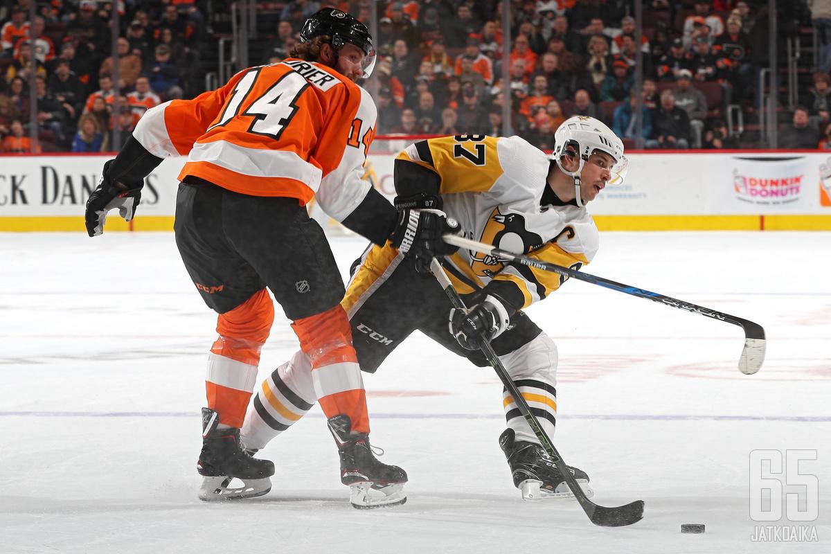 Flyersin ja Penguinsin kohtaaminen käynnistää uuden NHL-kauden.