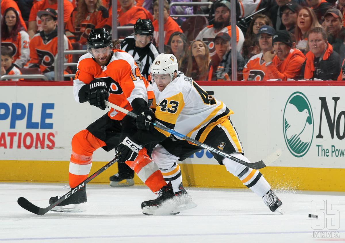 Flyers-hyökkääjä Couturier on ensimmäistä kertaa urallaan finalistina henkilökohtaisen palkinnon saajaksi.
