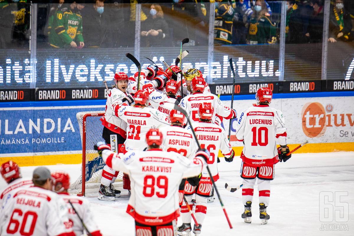 Sport jatkaa ilman ruotsalaishyökkääjäänsä.
