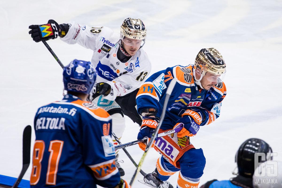 Tappara oli Kärppien edellä pelillisesti neljännessä kohtaamisessa.