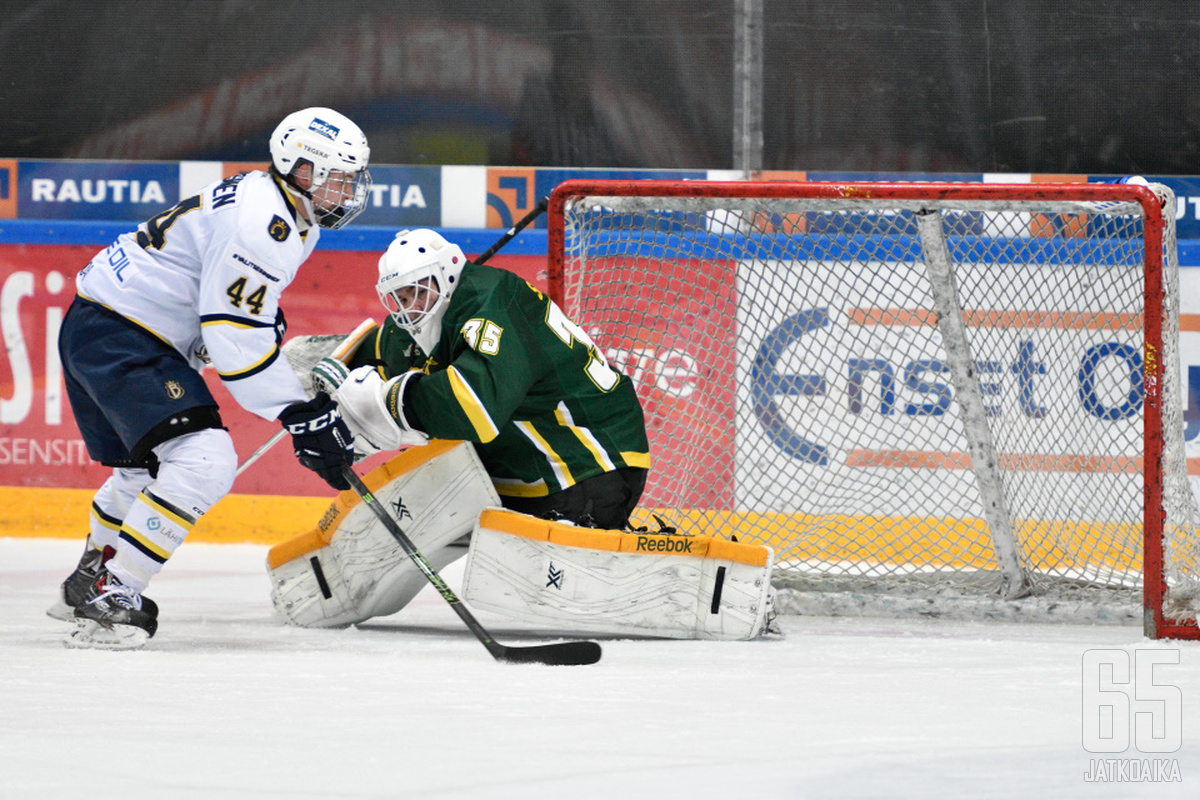 Hyökkääjä Emil Oksanen pelaa tulevan kauden USHL-juniorisarjassa.