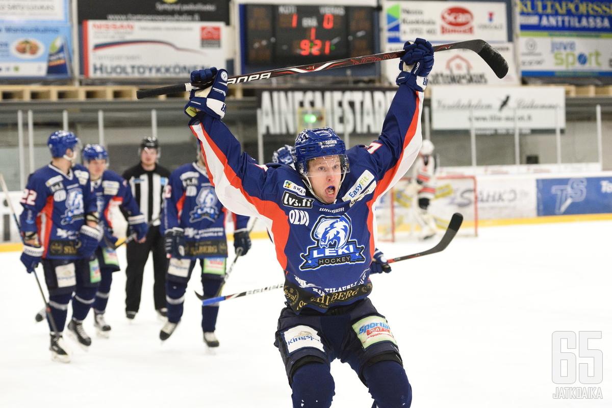 Jere-Matias Alanen on pelannut Mestistä vain Lempäälän Kisassa.