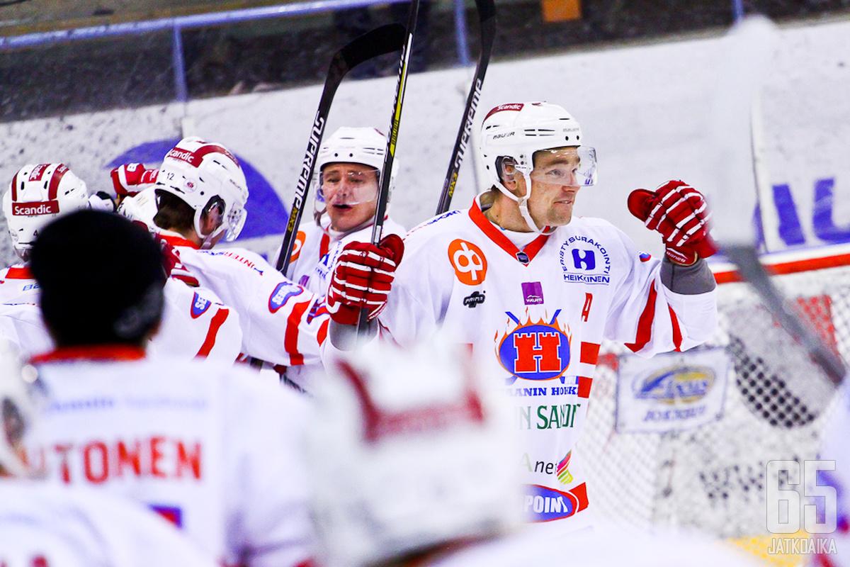 Mattila tuulettelee myös ensi kaudella Hokki-paidassa.