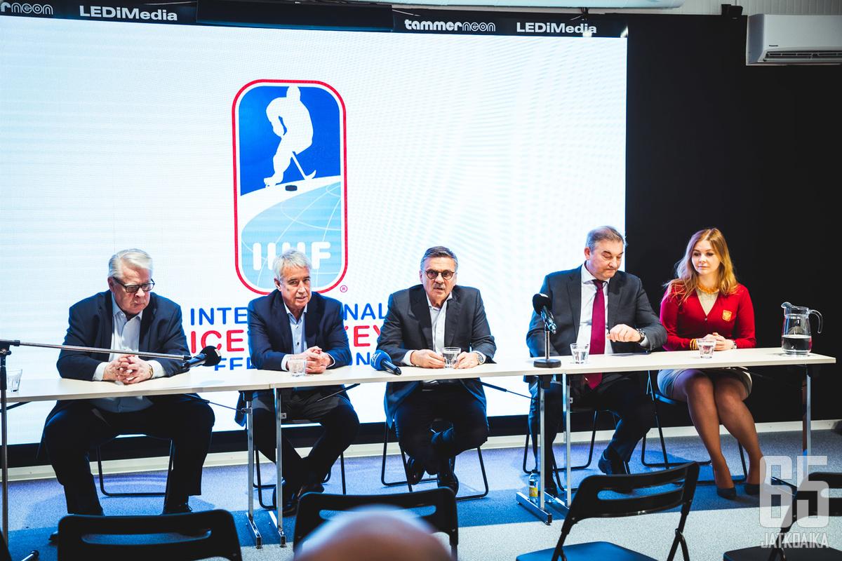Kummola, Fasel ja Tretjak siirtyvät syrjään IIHF:n hallituksesta.