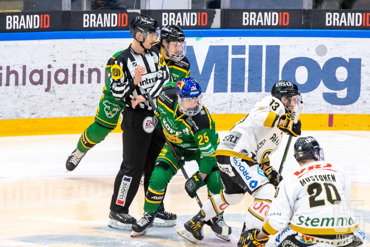 Aloitustilanne johti Antti Saarelan ulosajoon.