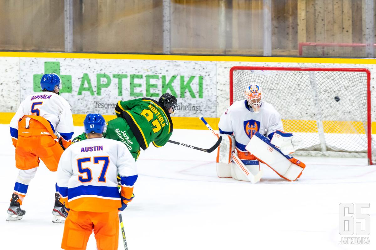Petri Kontiola ylsi listalla kolmanneksi.