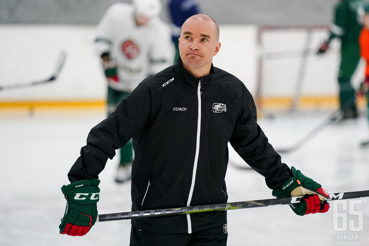 Ak Bars Kazan on suomalaisvalmentajalle jo kolmas KHL-seura.