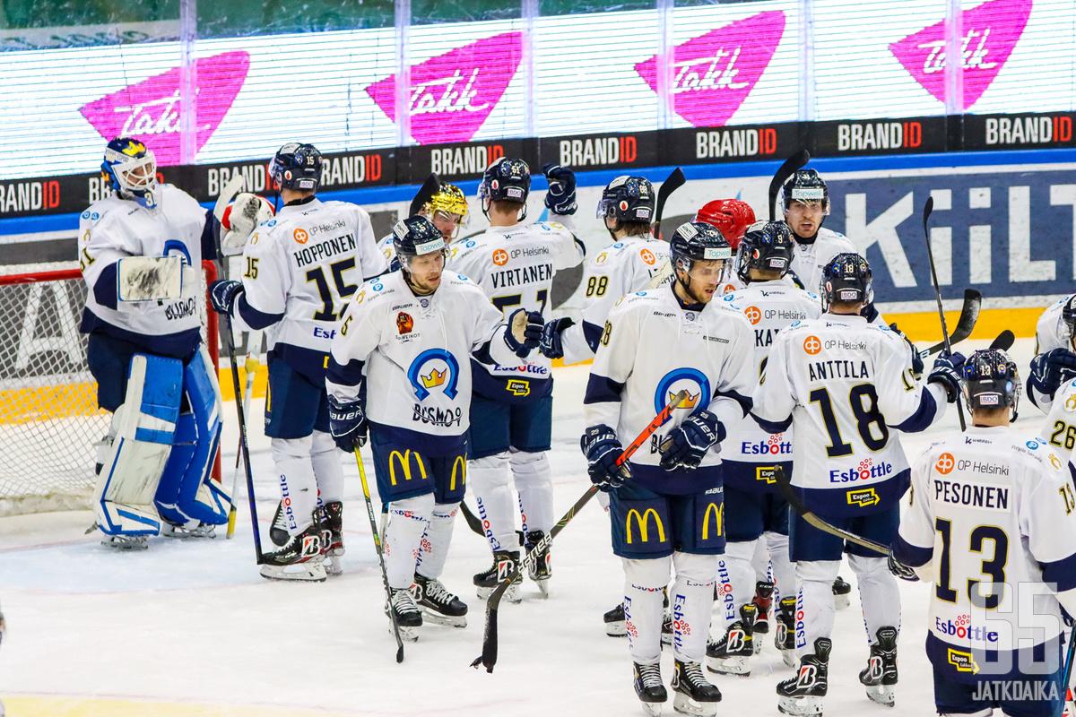 Kiekko-Espoo on huippupelaajien superhautomo.