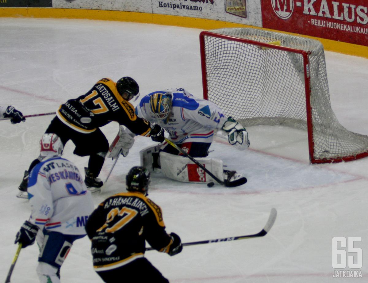 Kaksikko Katosalmi ja Hämäläinen repivät voiton SaPKosta muun joukkueen säestämänä.