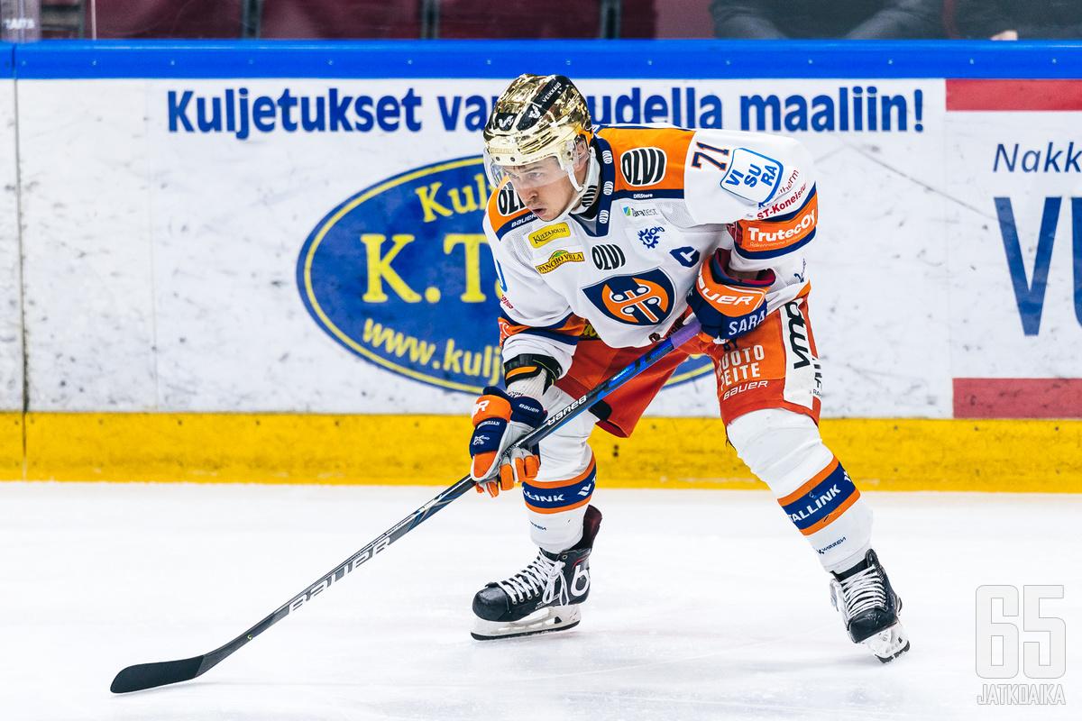 Kristian Kuusela oli illan tähti Lahdessa.