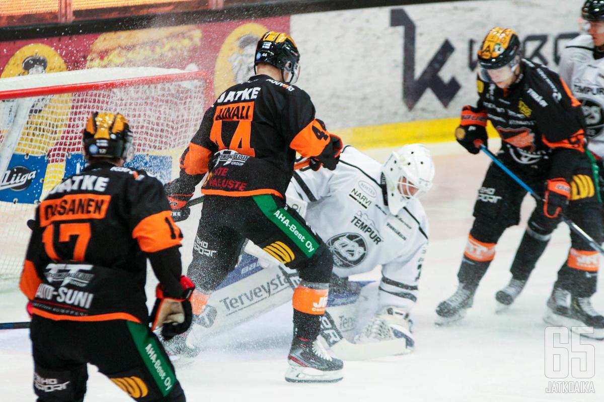 Ukko-Pekka Luukkonen piti TPS:n kiinni ottelussa 31 torjunnallaan.