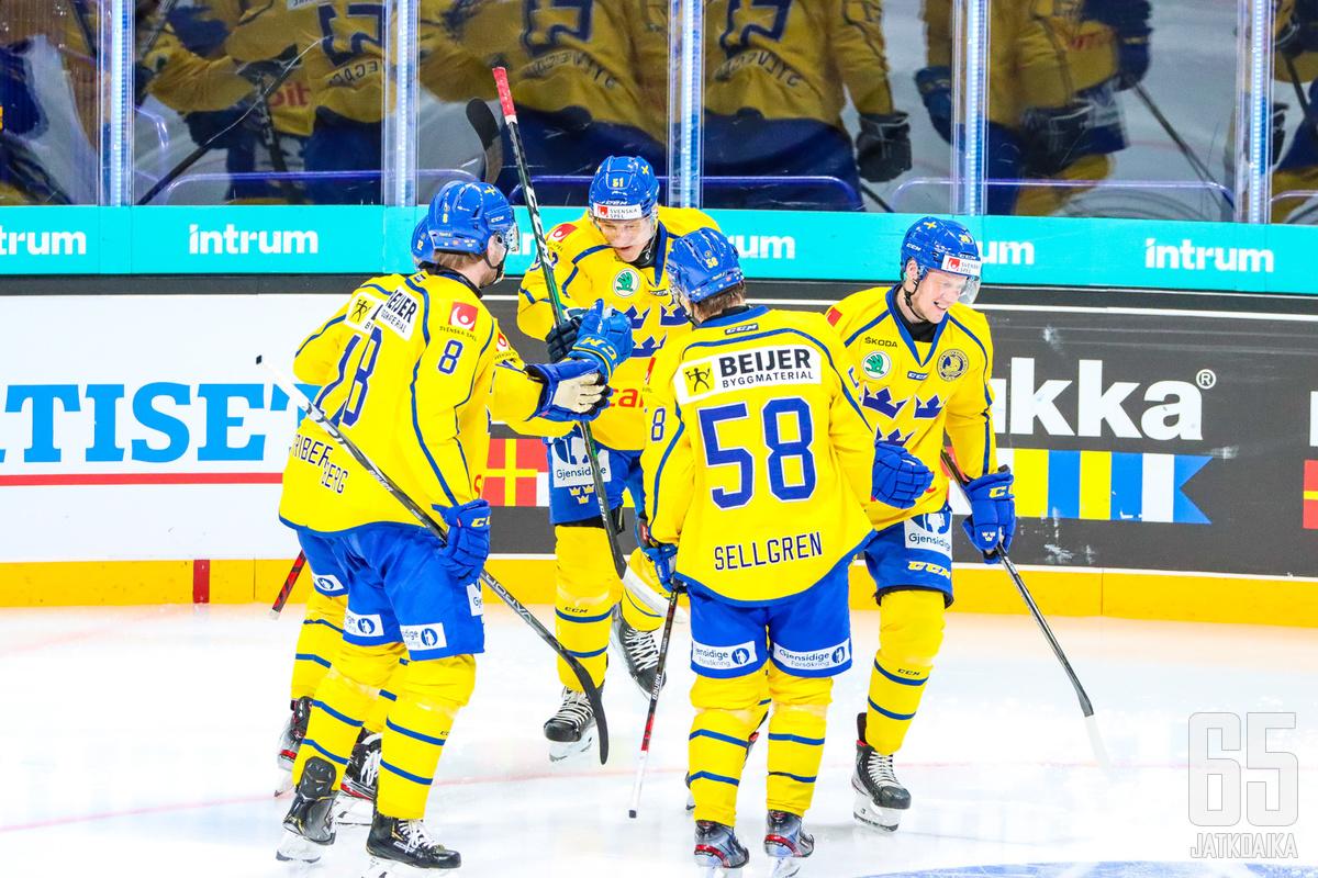 Riittääkö Ruotsin taso kovassa kamppailussa lohkon kärkisijoista?