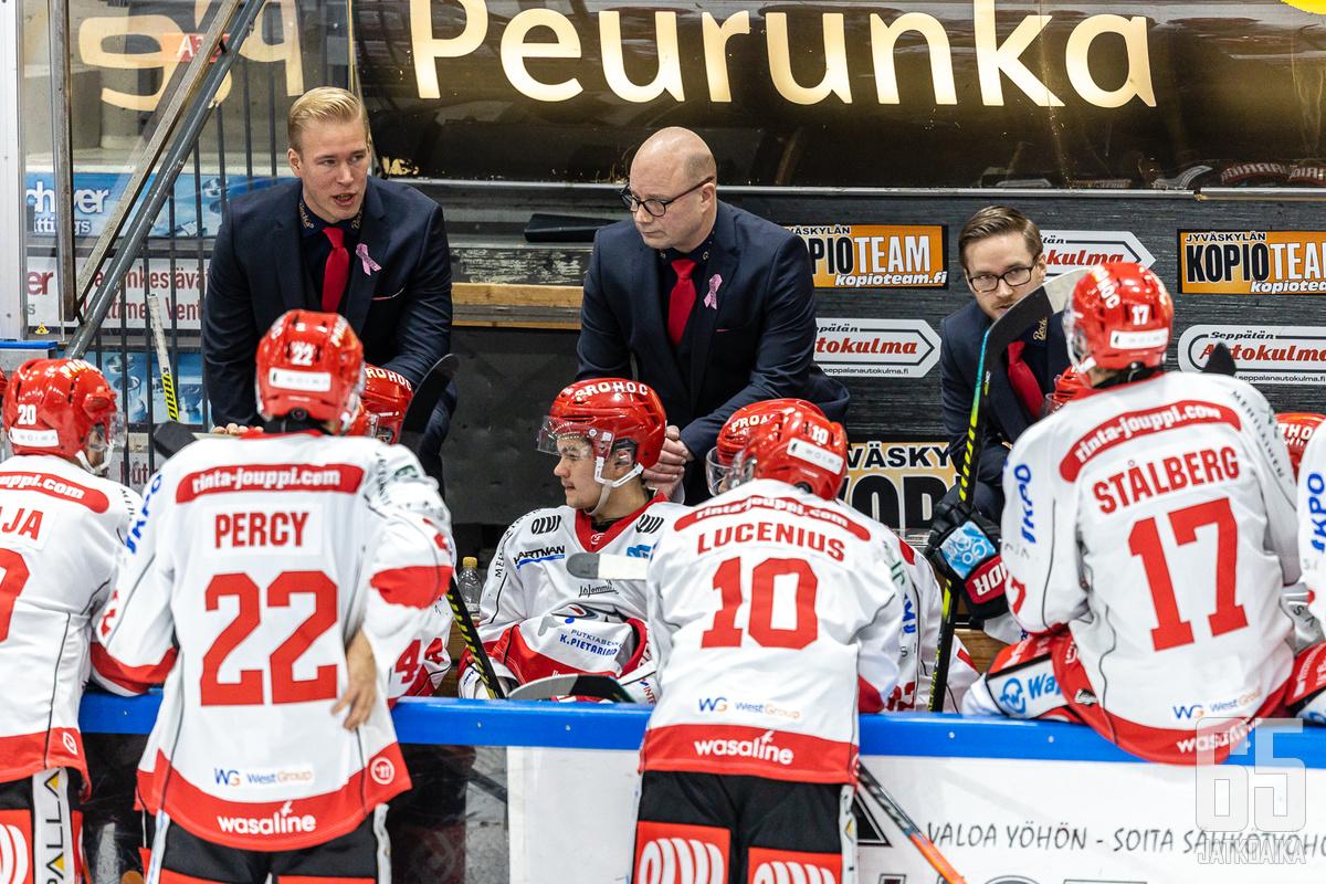 Dufva on Sportin päävalmentaja ensi kaudellakin.