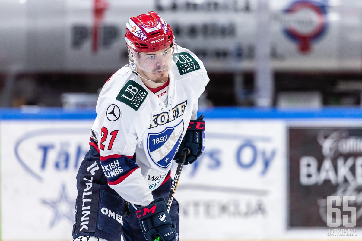 Ville Leskinen vastasi illan viimeisestä maalista.